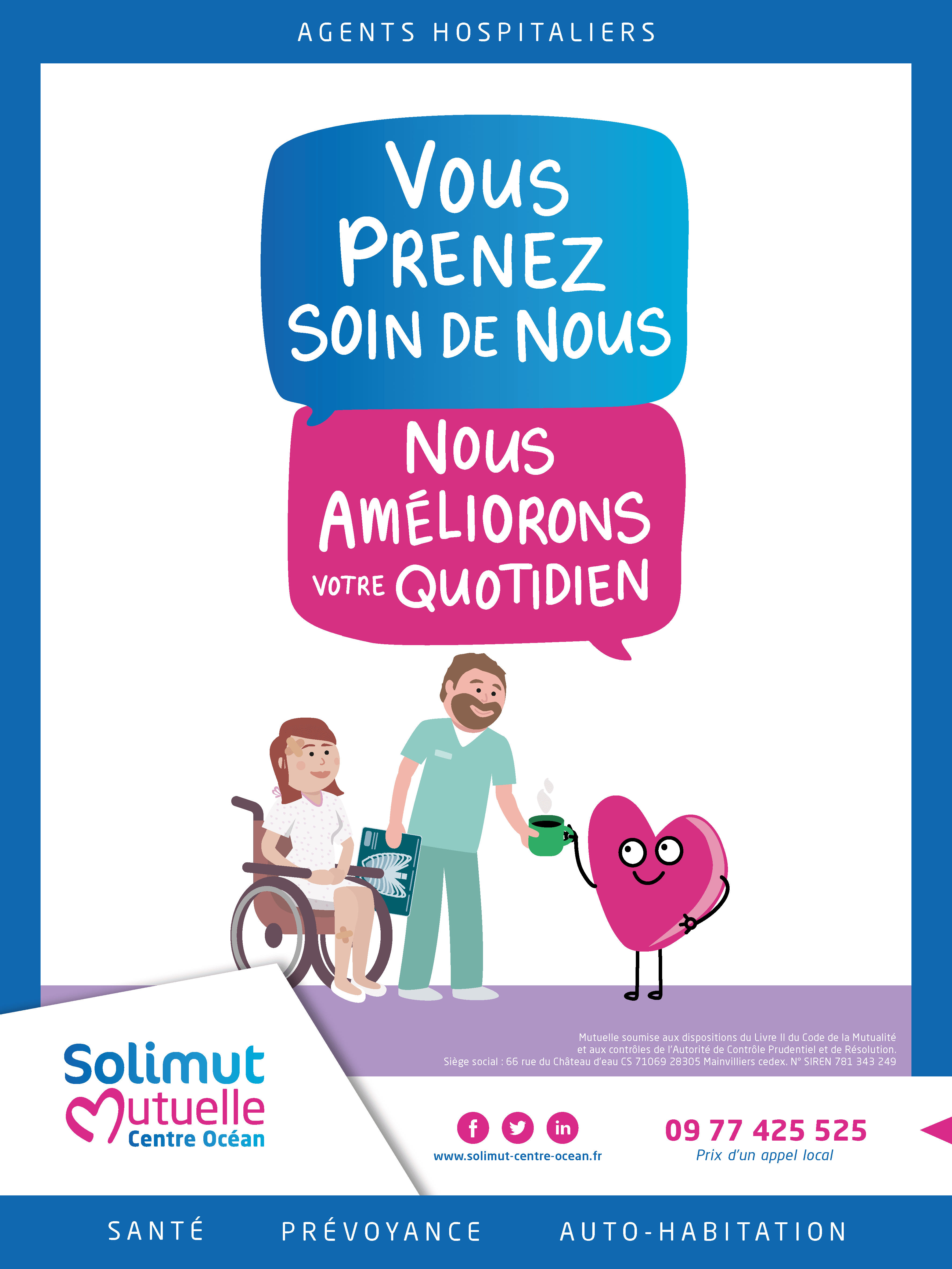 Affiche campagne agents hospitaliers